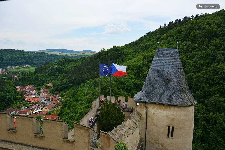 Чешский замок Карлштейн