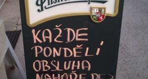 Маркетинг чешских ресторанов или Nahoře bez