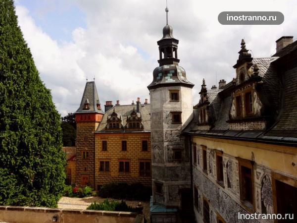 Замок Фридлант в Чехии