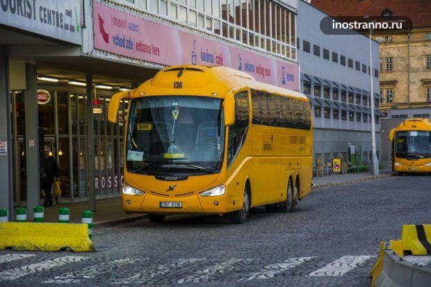 Автобус чешской компании Student Agency