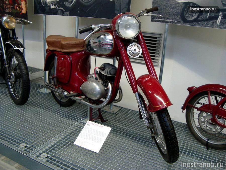 Мотоцикл Jawa-ČZ 150/352