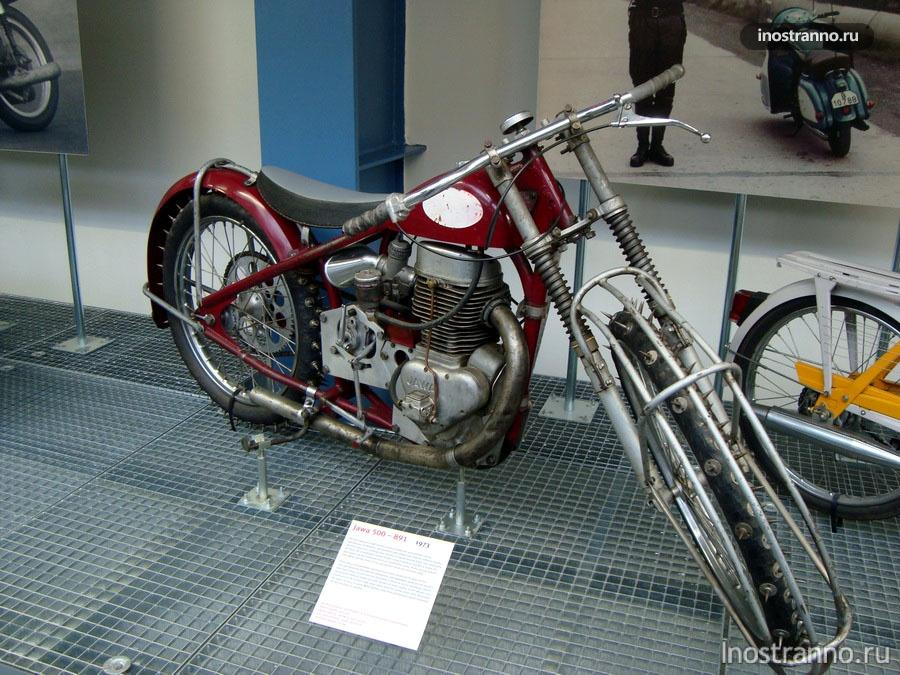 Мотоцикл Ява 500