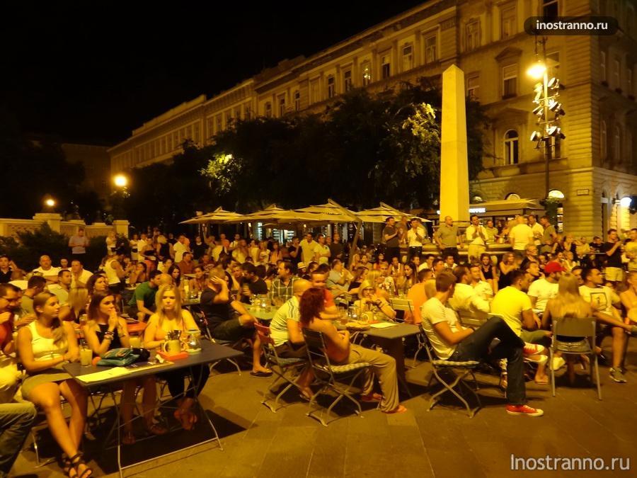 площадь в Будапеште