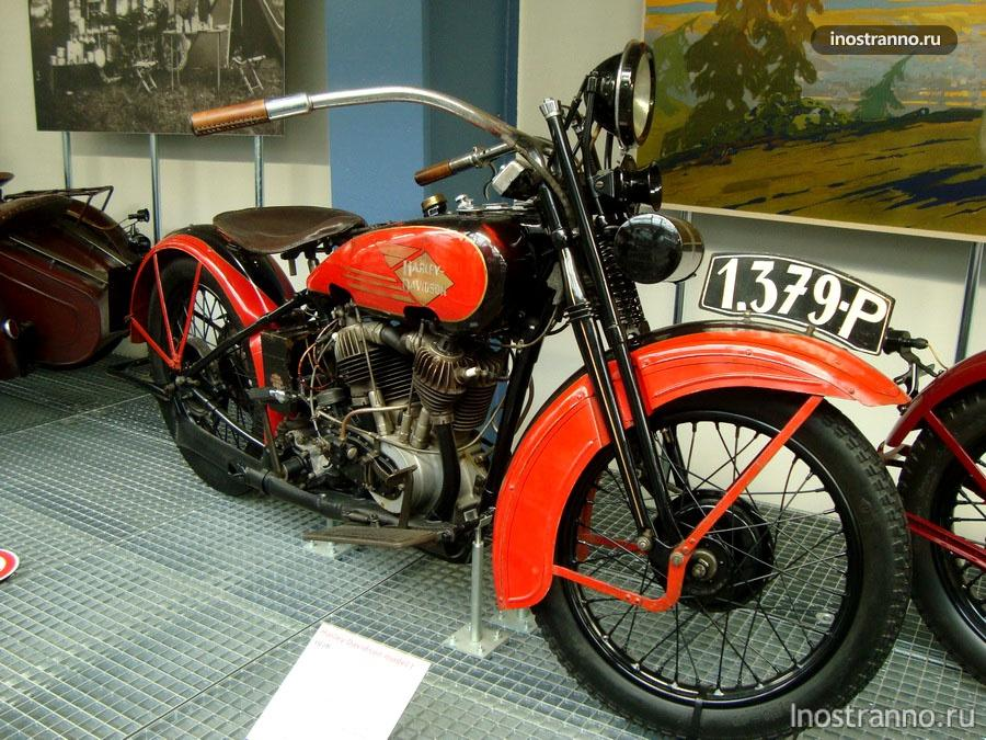 Мотоцикл Harley Davidson J
