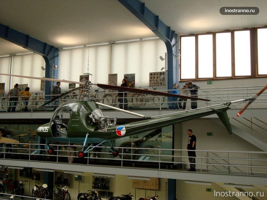 Чехословацкий вертолет Aero HC-2 Heli Baby