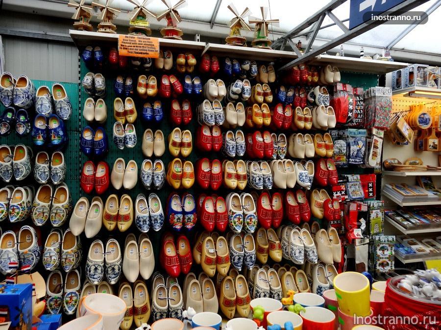 голландская обувь кломпы
