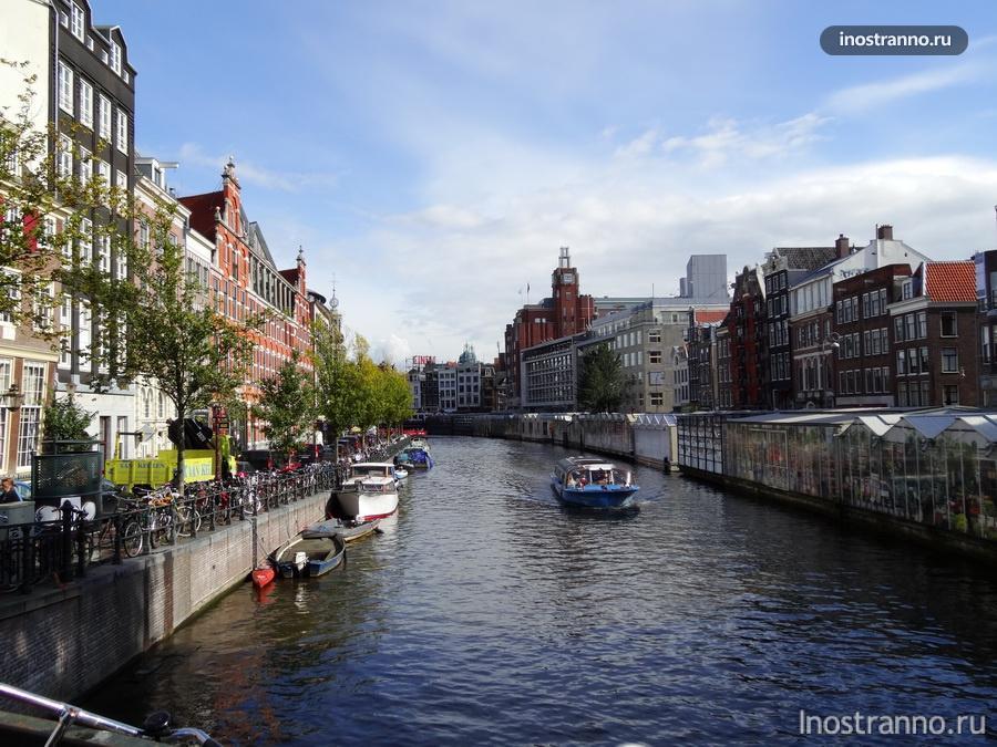 Велосипеды и каналы Амстера