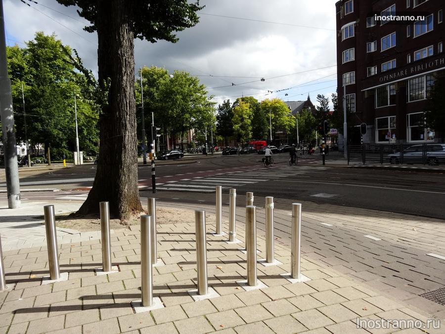 Велосипедные дорожки в Голландии