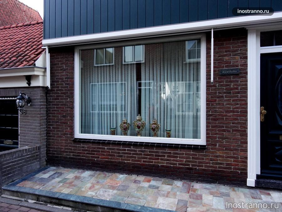 окна в голландих домах