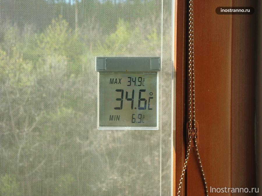 температура весной в Праге
