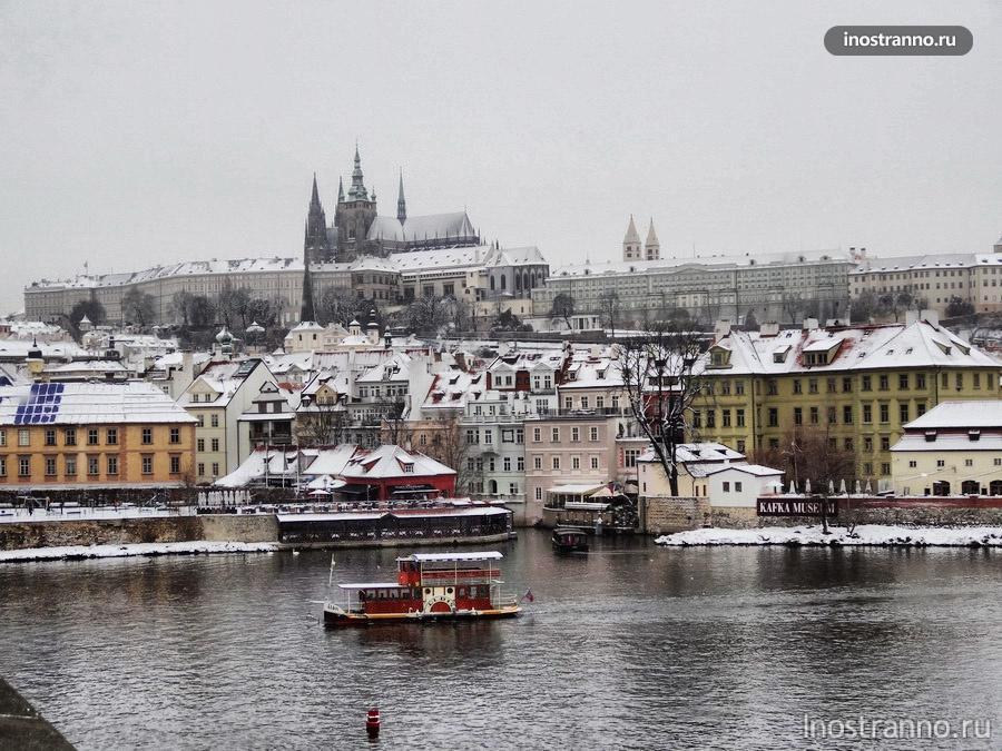 Прага зимой на Новый год