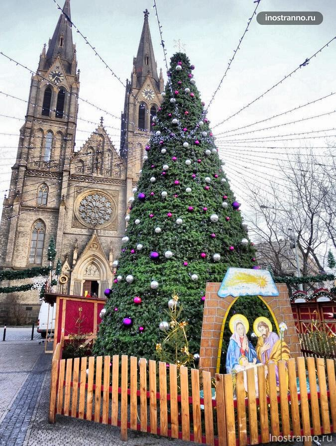 Собор святой Людмилы в Праге