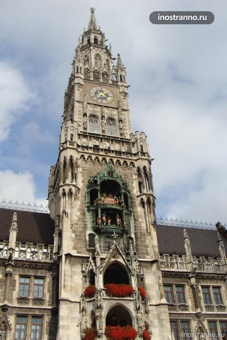 новая ратуша - мюнхен