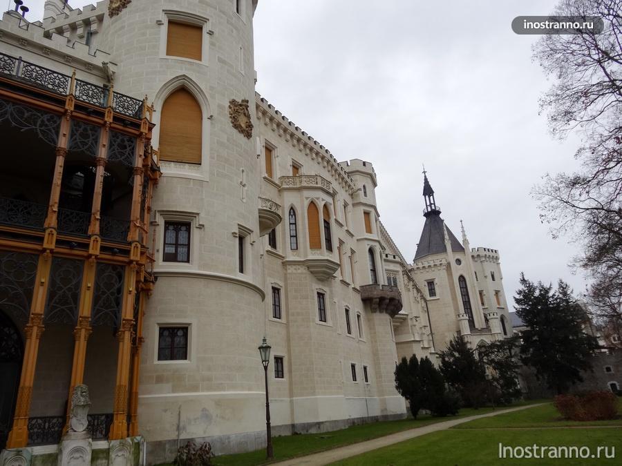 парк в замке
