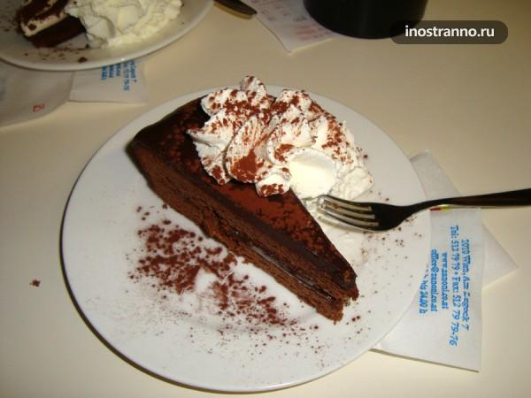 Австрийский торт Захер