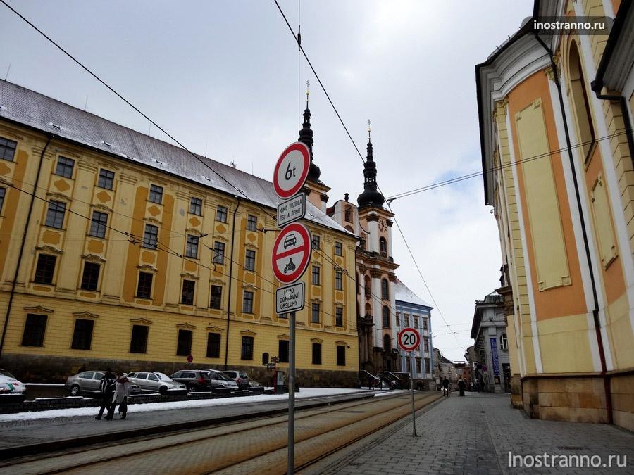 улица оломоуца