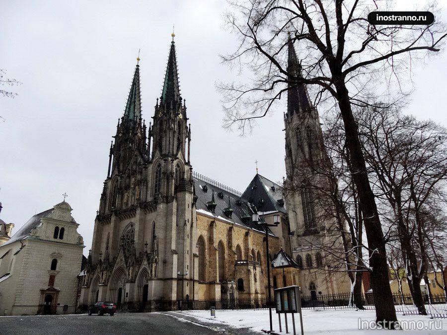 собор святого вацлава в оломоуце