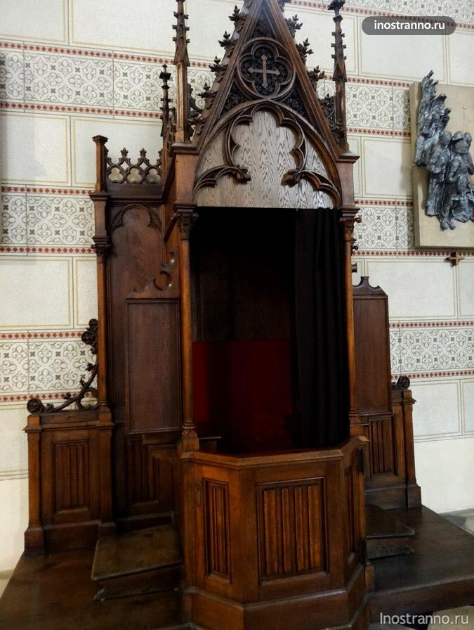 собор в оломоуце внутри