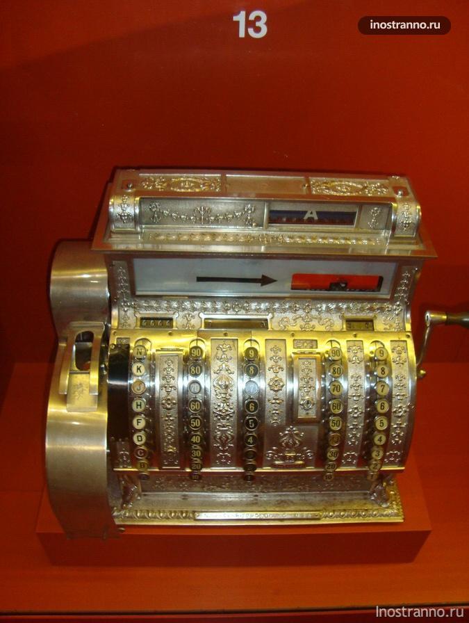 Кассовый аппарат 1900-1920 годов