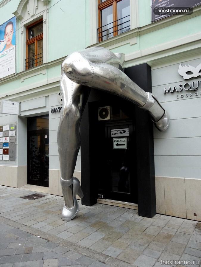ноги в Братиславе
