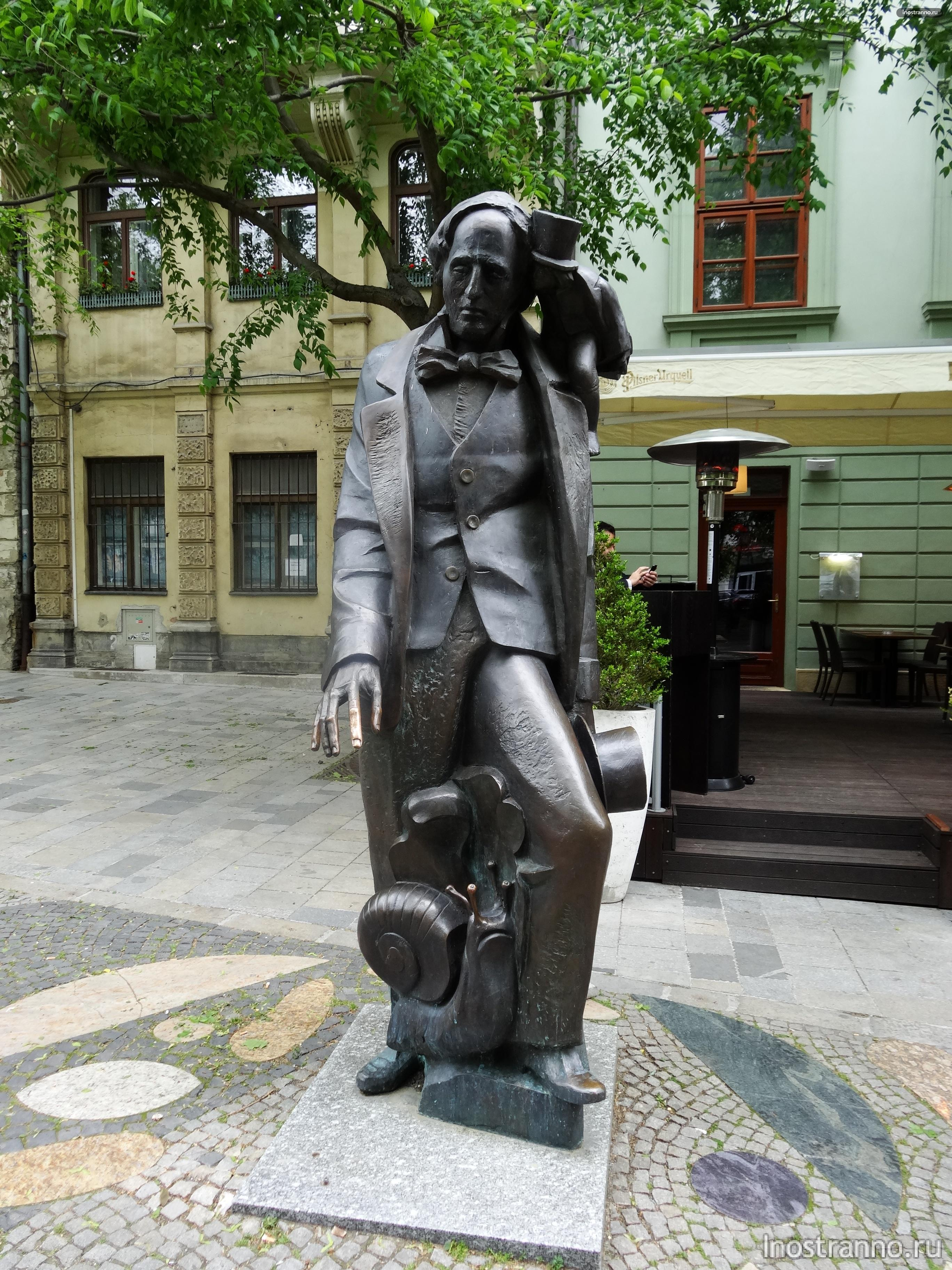 скульптура Ханс Кристиан Андерсен