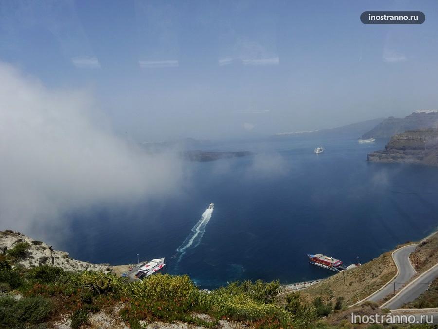 море и Санторини