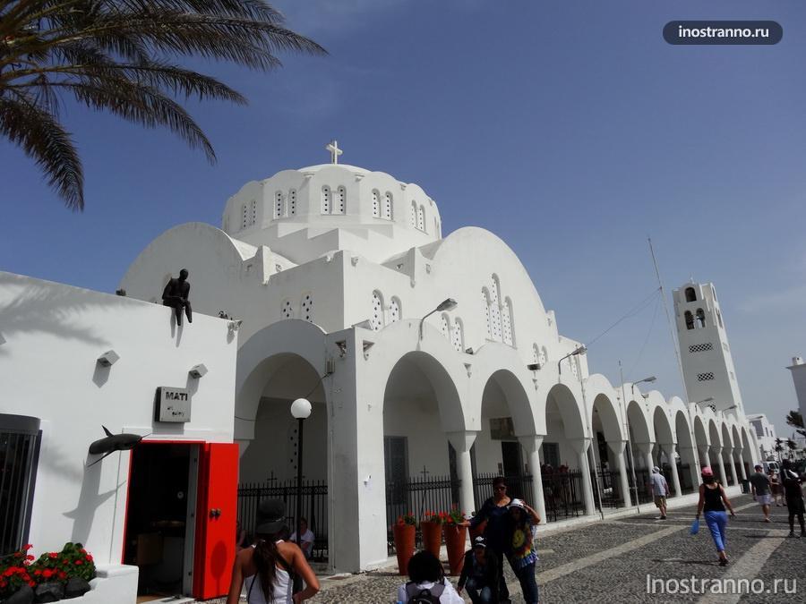 церковь на санторини