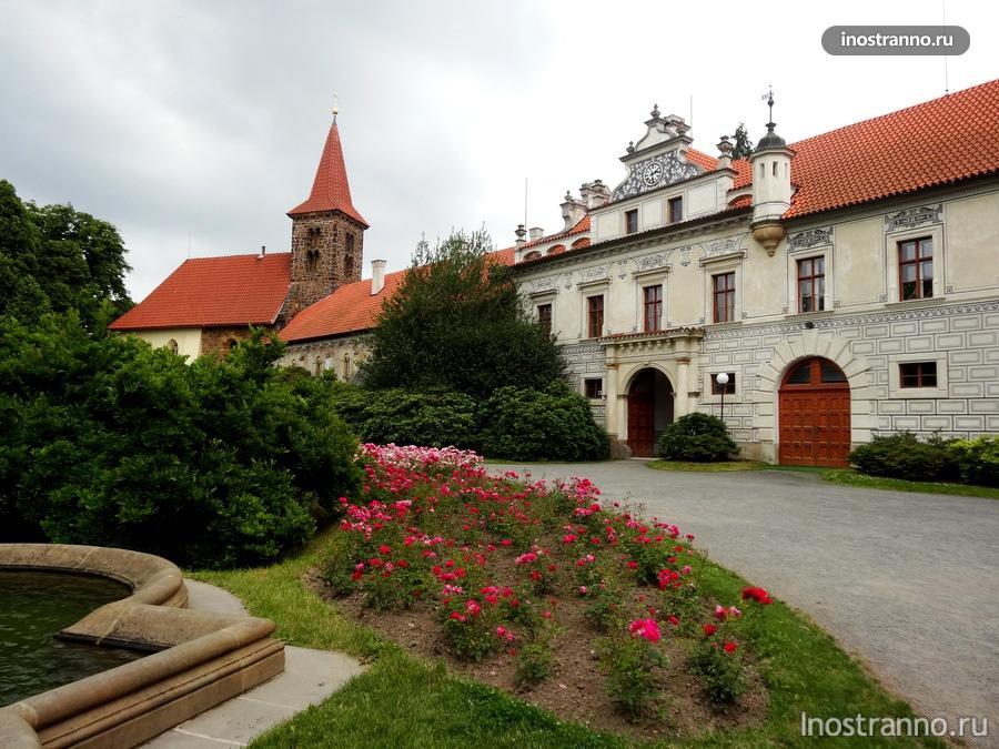 Замок и парк Пругонице