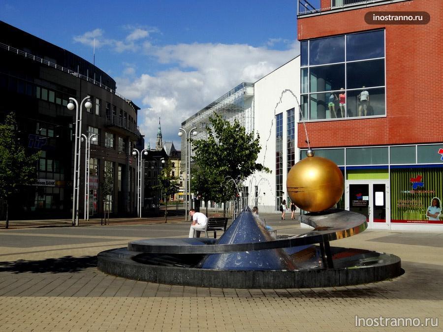 фонтан в либерце