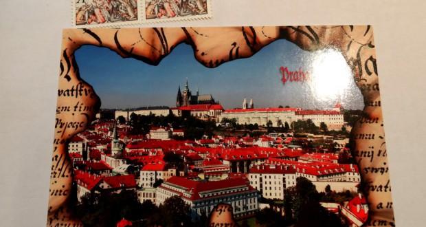 Как отправить открытку из Чехии