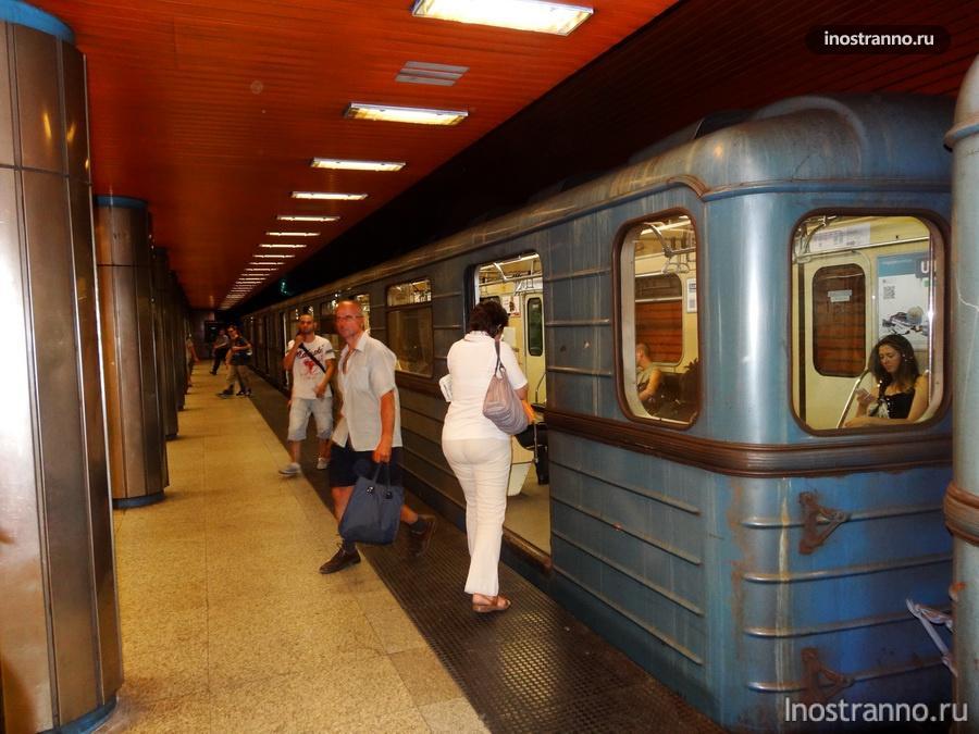 поезд «Мытищинского