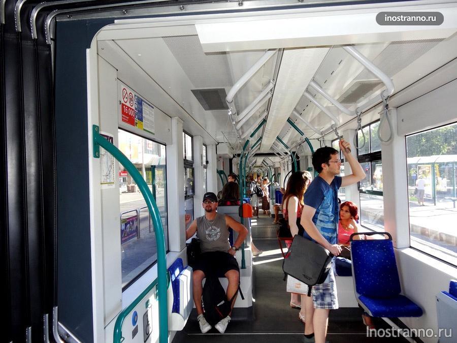 трамвай Siemens в Будапеште