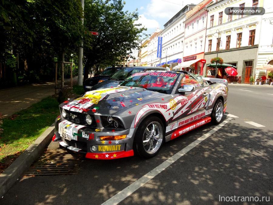 Ford Mustang в Чехии