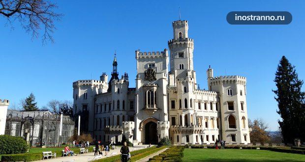 Замок Глубока-над-Влтавой в Чехии
