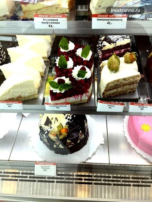 пражские торты