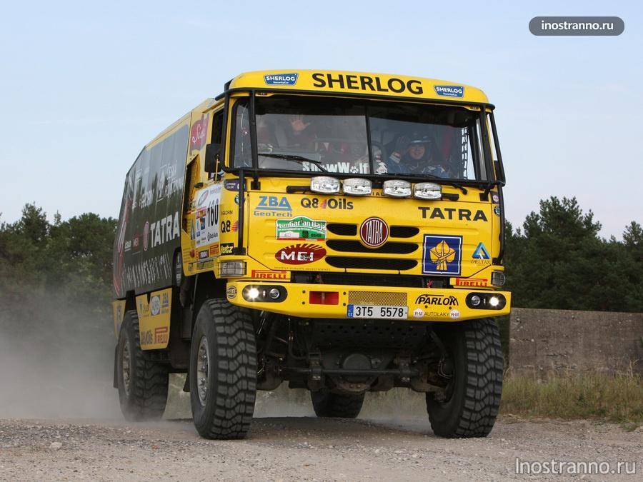 грузовой автомобиль татра