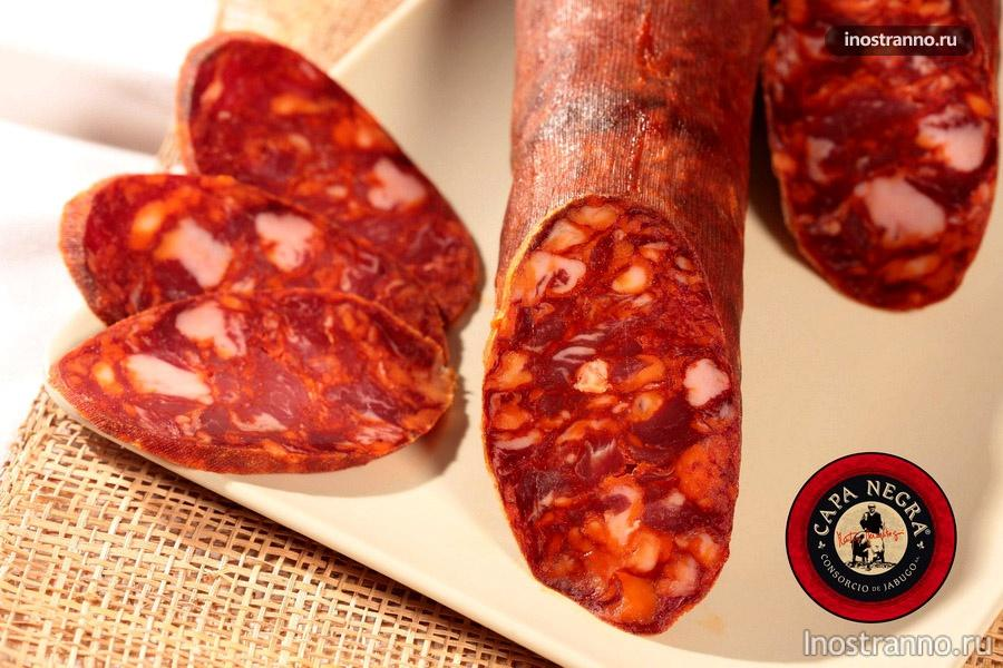 испанская колбаса чоризо