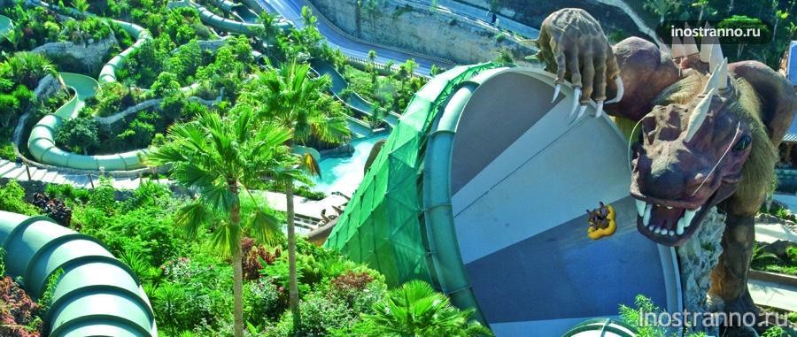 аквапарк - тенерифе