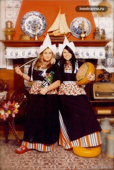 голландский национальный костюм