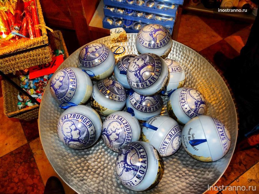 конфеты Моцарт - Моцаровские шарики