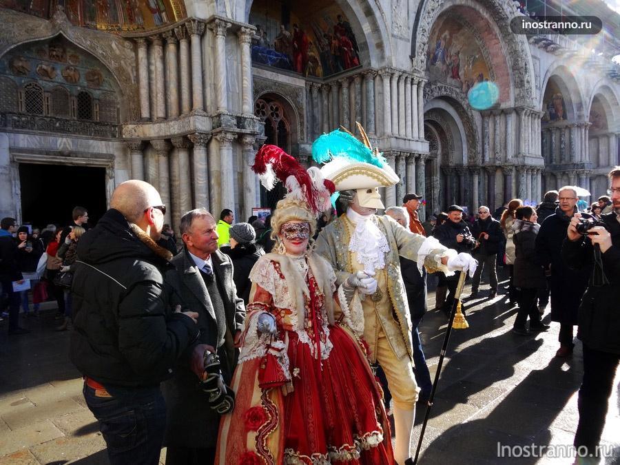 венецианский карнавал - костюмы