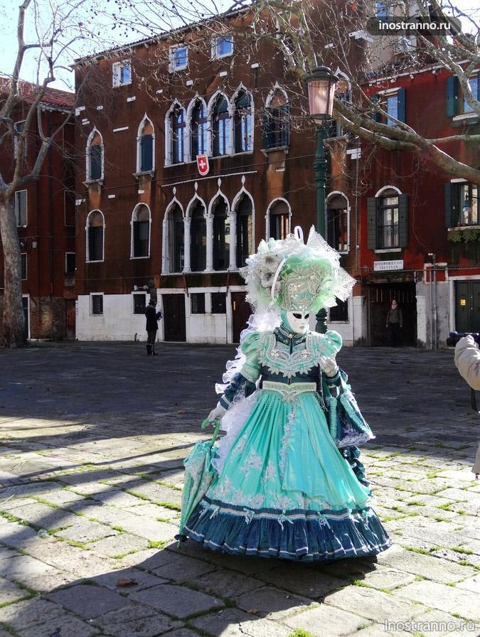 венецианская маска Венецианская Дама