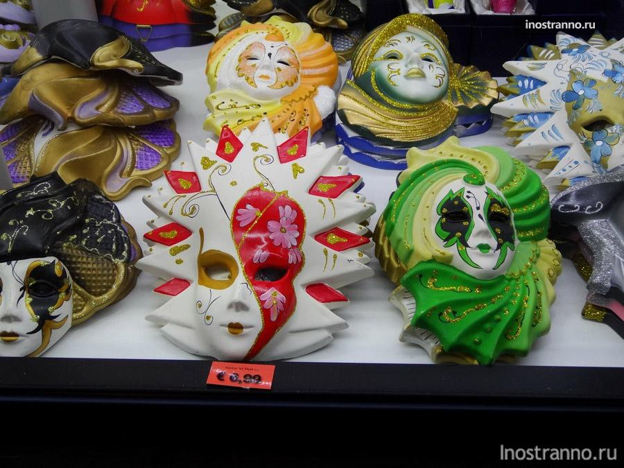 цены на венецианские маски