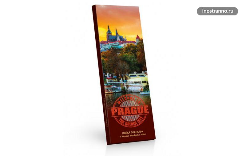 Подарочный шоколад из Чехии и Праги