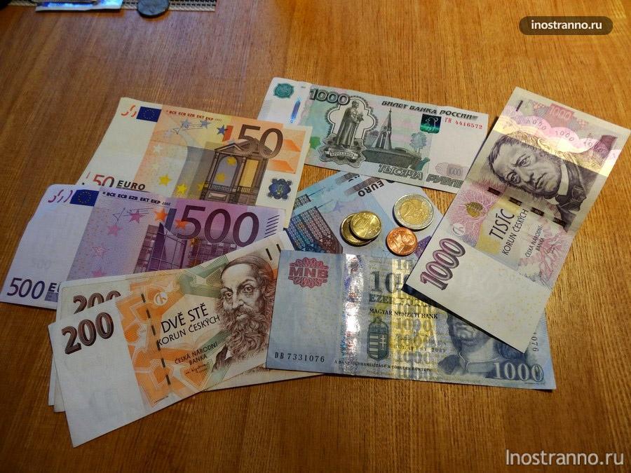 деньги в поездках