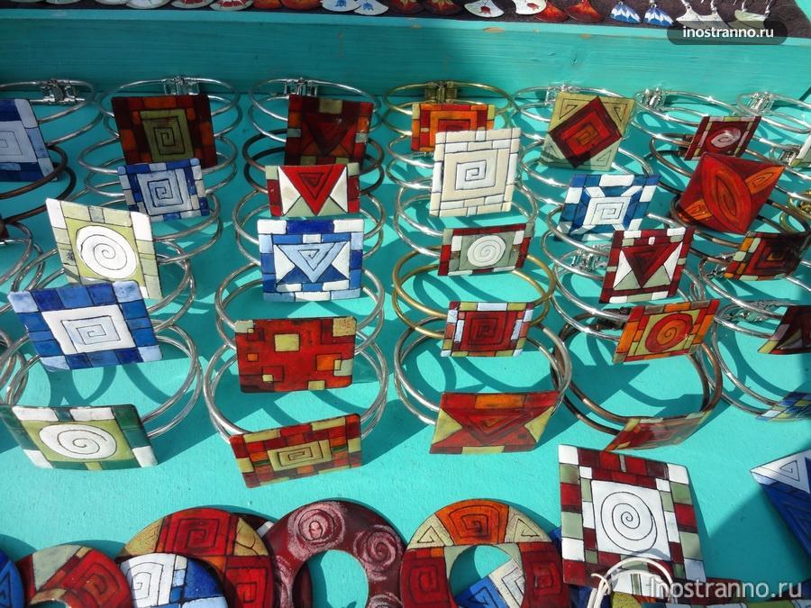 чешские сувениры из стекла