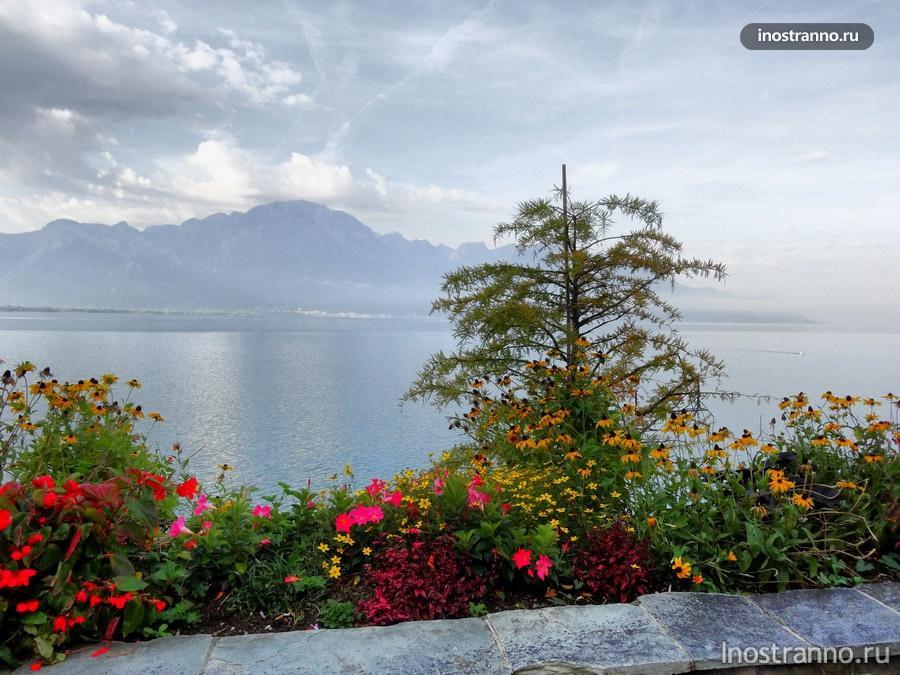 Монтрё - Женевское озеро