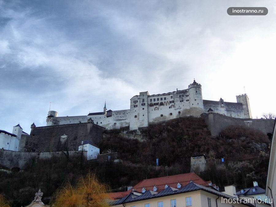 замок в зальцбурге