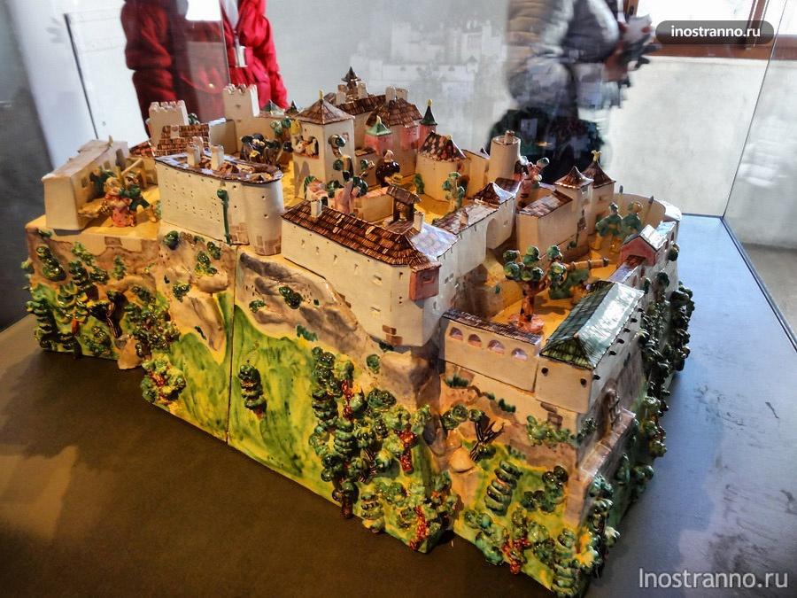 макет австрийского замка
