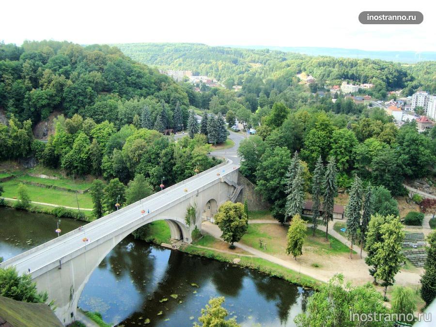 замок Локет в Чехии